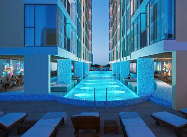 Tiện ích hồ bơi dự án căn hộ thiên Quân Marina Plaza Cần Thơ