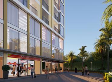 Tiện ích tầng thương mại dự án căn hộ thiên Quân Marina Plaza Cần Thơ